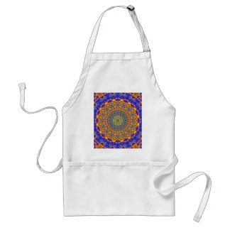 Mandala Of Life For A Rosy Spring Standard Apron