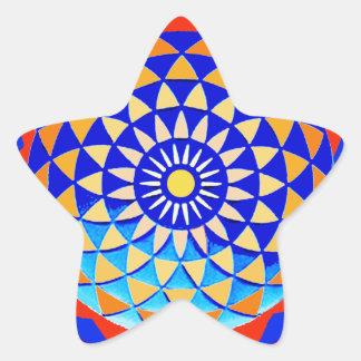 Mandala of Peace & Love Sticker