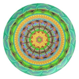Mandala Plate - Gilt