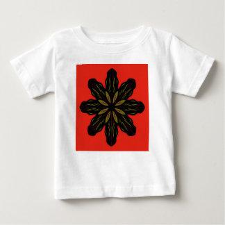 Mandala RED BLACK Baby T-Shirt