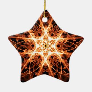 mandala star of davi.png christmas ornament