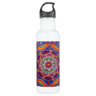 Mandala water bottle
