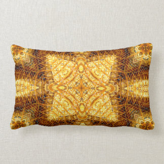 """Mandalay Inlay"" Mandala Pillow"