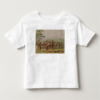 Mandan Archery Contest, c.1832 Toddler T-Shirt