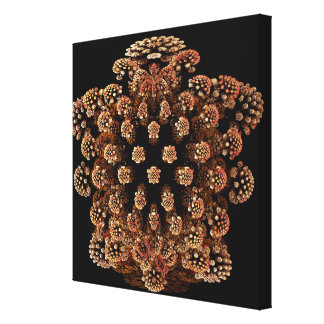 Mandel Fractel Gallery Wrapped Canvas
