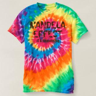 Mandela Effect ..It's Happening Spiral Tie-Dye Tee