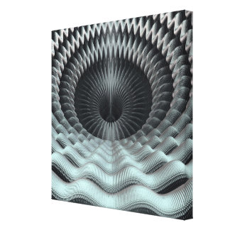 Mandelbulb Fractal Gallery Wrapped Canvas