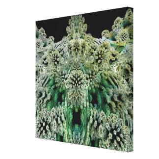 Mandelbulb Fractel 4 Gallery Wrapped Canvas