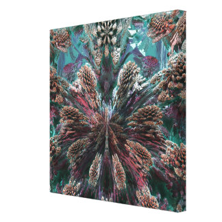 Mandelbulb Fractel Gallery Wrapped Canvas