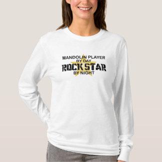 Mandolin Rock Star by Night T-Shirt