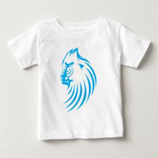 Mandrill in Swish Drawing Style Baby T-Shirt