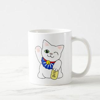 Maneki Neko Lucky Cat Coffee Mug
