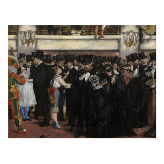 Manet | Masked Ball at the Opera, 1873 Postcard