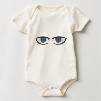 manga eyes.ai baby bodysuit