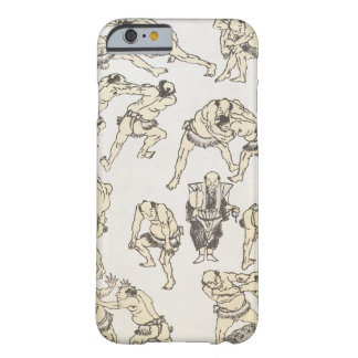 Manga: studies of gestures and postures of wrestle barely there iPhone 6 case
