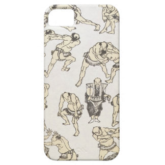 Manga: studies of gestures and postures of wrestle case for the iPhone 5