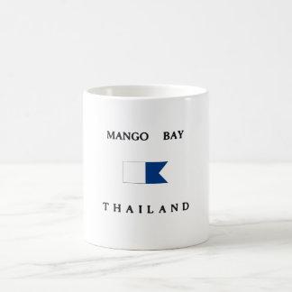 Mango Bay Thailand Alpha Dive Flag Coffee Mug