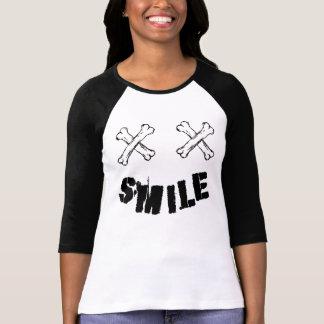 Mangos Raglan 3/4 Smile T-Shirt