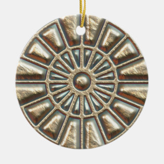 Manhole Cover Christmas Ornament