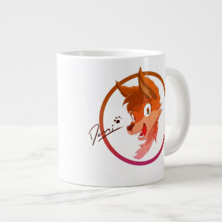 Mans best friend on a cup TOON- JUMBO
