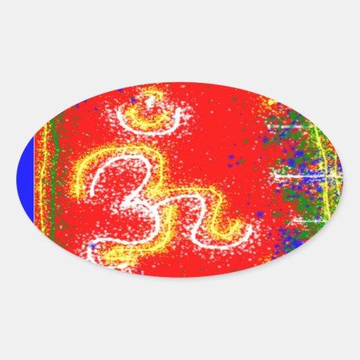 MANTRA Shakti: Passion Dedication Power Peace Sticker