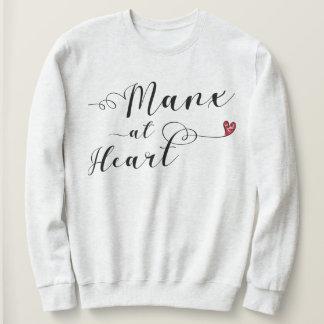 Manx At Heart Sweatshirt, Isle of Man Sweatshirt