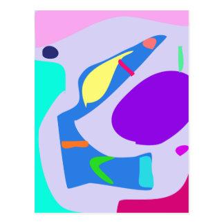 Many Blessing Modern Joyful Sense Variations 8 Postcard