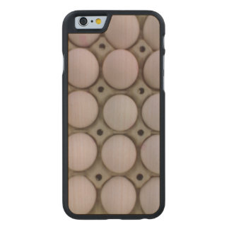 Many Eggs Carved Maple iPhone 6 Case