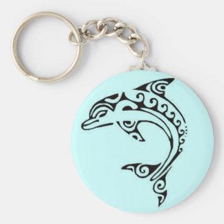 Maori Dolphin Key Ring