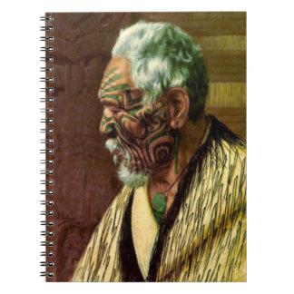 Maori Elder 1914 Spiral Notebook