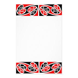 Maori Kowhaiwhai Pattern 2 Stationery