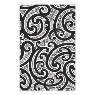 maori custom stationery templates maori stationery. Black Bedroom Furniture Sets. Home Design Ideas