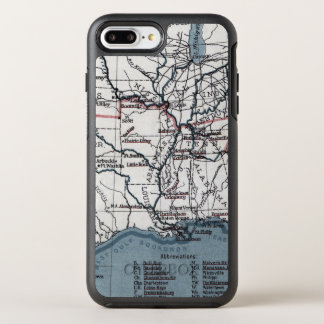 MAP: CIVIL WAR, 1861 OtterBox SYMMETRY iPhone 8 PLUS/7 PLUS CASE