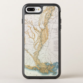MAP: MISSISSIPPI RIVER, 1861 OtterBox SYMMETRY iPhone 8 PLUS/7 PLUS CASE