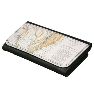 MAP: MISSISSIPPI RIVER, 1861 WALLET
