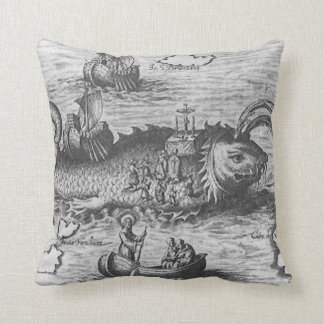 Map Monster/Sea Serpent Cushions