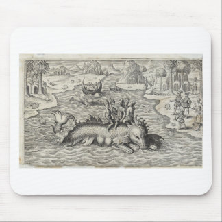 Map Monster/Sea Serpent Mouse Pad