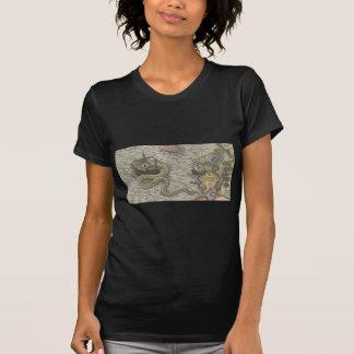 Map Monster/Sea Serpent T-shirt