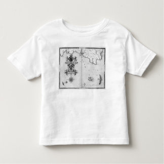 Map No.4 Showing the route of the Armada fleet Toddler T-Shirt