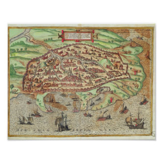 Map of Alexandria Poster