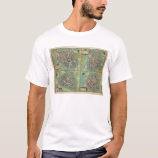 Map of Arnhem, Velmo, Gelre, and Ruerm, from 'Civi T-Shirt