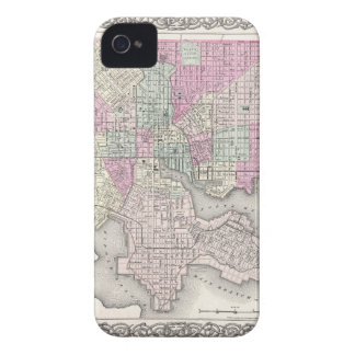 Map of Baltimore Maryland iPhone 4 Cases