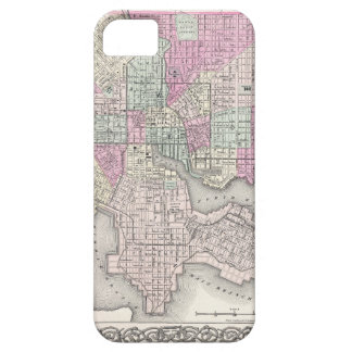Map of Baltimore Maryland iPhone 5 Cover