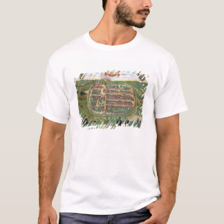 Map of Barth, from 'Civitates Orbis Terrarum' by G T-Shirt