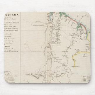 Map of British Guiana Mouse Pad