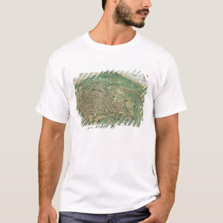 Map of Catania, from 'Civitates Orbis Terrarum' by T-Shirt