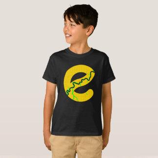 Map of Edmonton Kids Tshirt