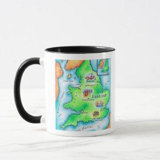 Map of England Mug
