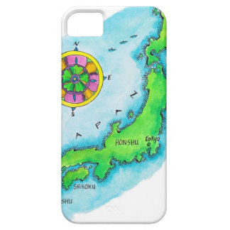 Map of Japan 2 Barely There iPhone 5 Case