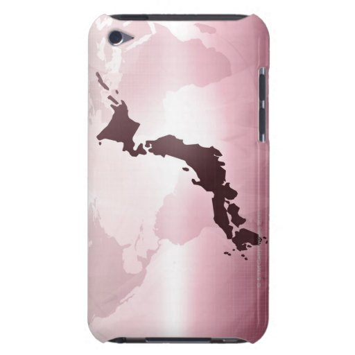 Map of Japan iPod Touch Cases